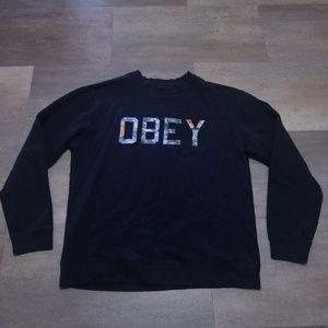OBEY Propaganda Mens Pullover XL